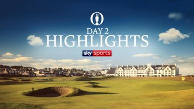 The Open: Highlights - Day 2