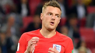 Vardy doubtful for Sweden game