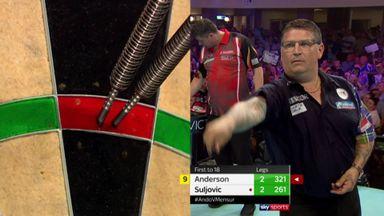 Anderson's 12-dart leg