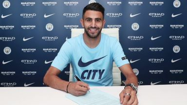 Mahrez joins Man City