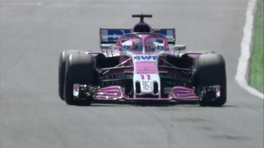 Perez's Hockenheim hot lap