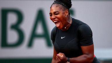 'Serena's success has set the bar'