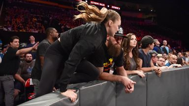 Rousey interferes in Extreme Rules Title Match