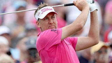 Poulter at the Open Zone