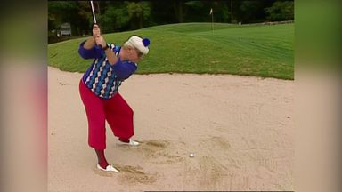 A round of golf with Heenan