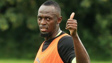 Bolt set for Aussie soccer?