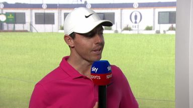 McIlroy happy with performance