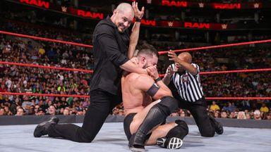 Balor & Roode take on Corbin & Elias
