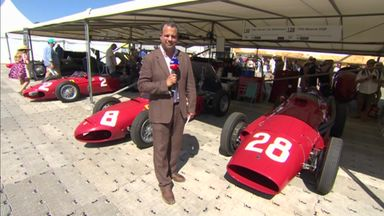 Ted's classic Ferraris at Goodwood