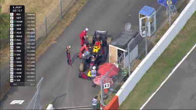 Ricciardo slows to a halt