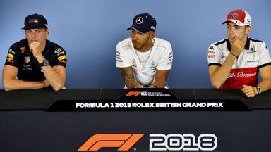 British GP: Driver's Press Conference