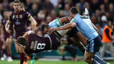 State of Origin: NSW v Q'land Hlts