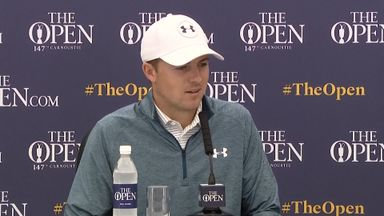 Spieth: Hard to hand back trophy