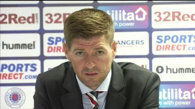 Gerrard wants Rangers improvement