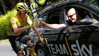 Brailsford: Froome in uncharted territory