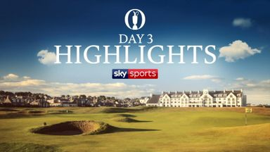 The Open: Highlights - Day 3