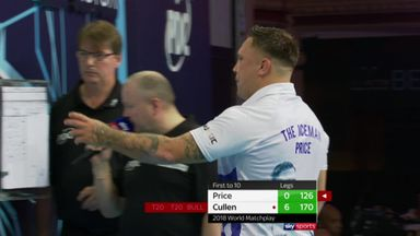 Cullen's stunning 170 finish