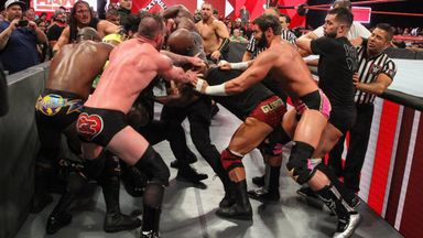 Reigns & Lashley cause chaos