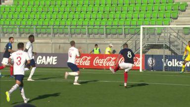 England U19 0-5 France U19