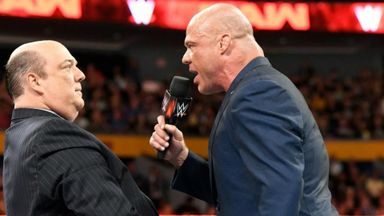 Heyman answers Angle's ultimatum