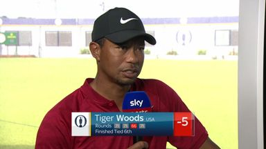 Tiger reflects on positive week