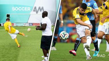 Akinfenwa & Smithy recreate Rodriguez goal!