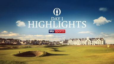 The Open: Highlights - Day 1