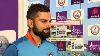 Kohli defends team changes