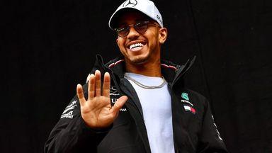 Hamilton F1's Ronaldo?