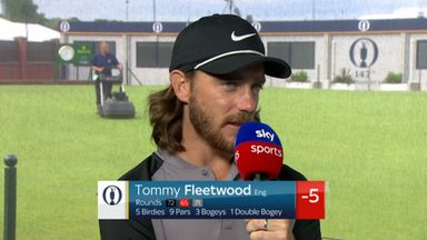 Fleetwood happy to be in the mix