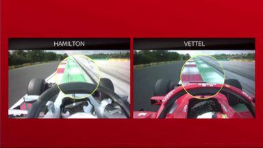 Vettel v Hamilton comparison