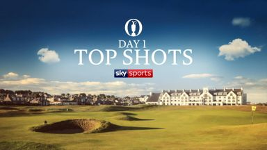 The Open: Top Shots - Day 1