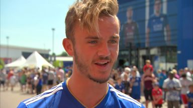 Maddison keen to get started at Leicester