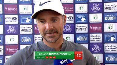Immelman 'felt like a real golfer'
