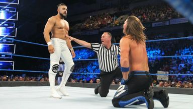Did Almas upset the WWE Champion?