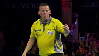 Chisnall's dazzling double