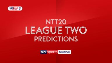 Sky Bet League Two predictions