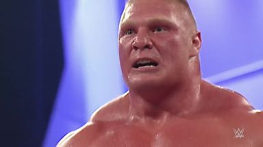 50 Brock Lesnar's suplexes