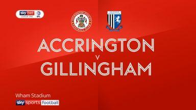 Accrington 0-2 Gillingham