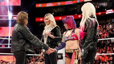 Asuka wins first Women's Rumble!