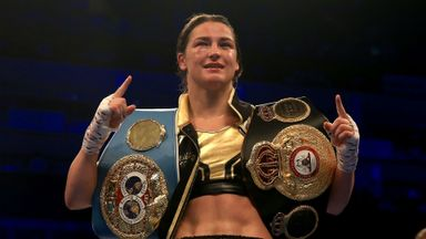 Taylor aiming to unify division