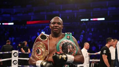 Whyte: I've earned Wilder, Joshua shot