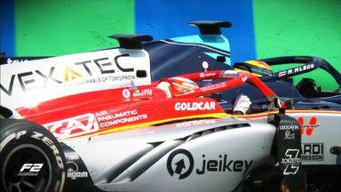 F2 Race 2: Highlights