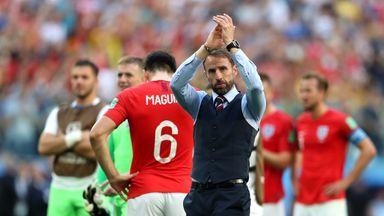 'England lifted some gloom'