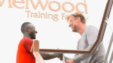 Keita performs for new Liverpool team mates