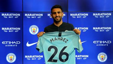 Mahrez: Competition good for City