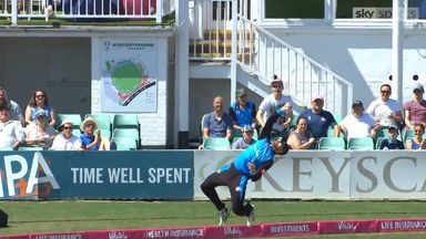 Worcestershire's stunning catch