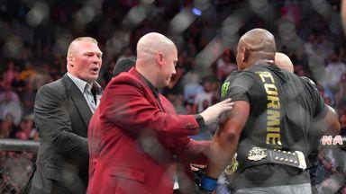 Lesnar & Cormier's UFC feud explained