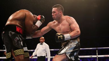 Dillian Whyte survives to out-point Joseph Parker