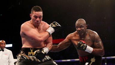 Whyte: I found a way against Parker